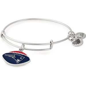 Alex & Ani New England Patriots Women's Stack Bracelet