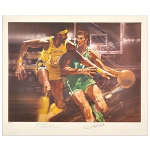 Autographed Boston Celtics Wilt Chamberlain, John Havlicek Fanatics Authentic
