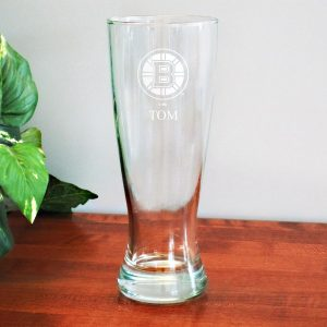 Boston Bruins 20oz. Personalized Pilsner