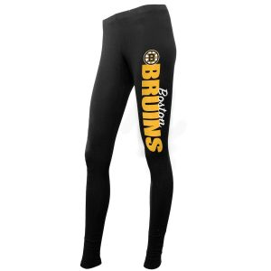 Boston Bruins Concepts Sport Women's Solid Leggings – Black