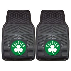 Boston Celtics 27″ x 18″ 2-Pack Vinyl Car Mat Set