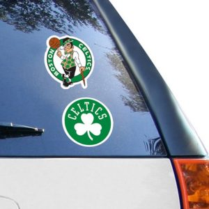 "Boston Celtics 2-Pack 4"" x 4"" Die-Cut Decals"