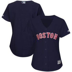Boston Red Sox Majestic Women's 2015 Cool Base Jersey – Navy