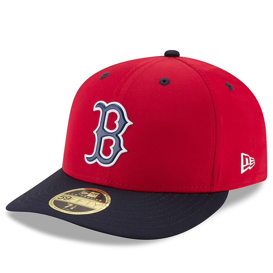 half off 41722 ca4f6 Boston Red Sox New Era 2018 On-Field Prolight Batting Practice Low Profile 59FIFTY  Fitted Hat ...