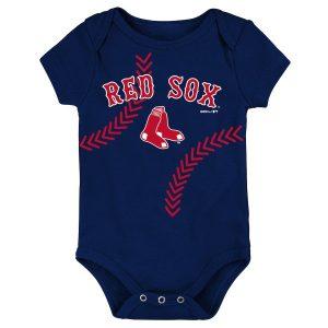 Boston Red Sox Newborn & Infant Fan-tastic Baseball Bodysuit – Navy