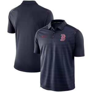 Boston Red Sox Nike Stripe Polo – Navy
