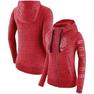 Boston Red Sox Nike Women's Vintage Full-Zip Hoodie – Red