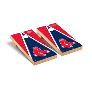 Boston Red Sox Triangle Cornhole Game