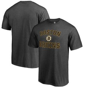 Fanatics Branded Boston Bruins Gray Victory Arch T-Shirt