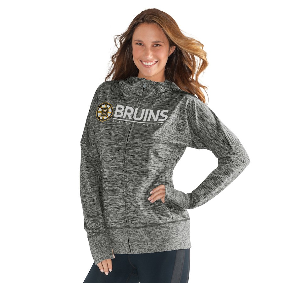 G Iii 4her By Carl Banks Boston Bruins Women S Heathered Gray