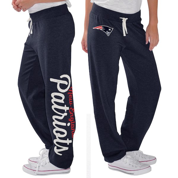 promo code 58160 0bab5 G-III 4Her by Carl Banks New England Patriots Women's Navy Scrimmage Fleece  Pants