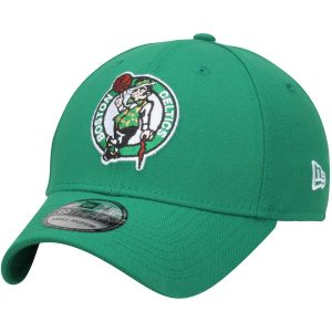 Men's Boston Celtics New Era Kelly Green Team Classic 39THIRTY Flex Hat