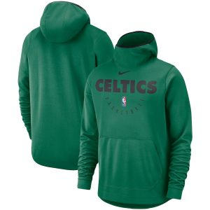 Men's Boston Celtics Nike Kelly Green Spotlight Performance Pullover Hoodie