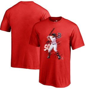 Mookie Betts Boston Red Sox Fanatics Branded Youth Fade Away T-Shirt – Red