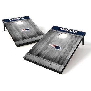 New England Patriots 2′ x 3′ Team Logo Cornhole Tailgate Toss Set