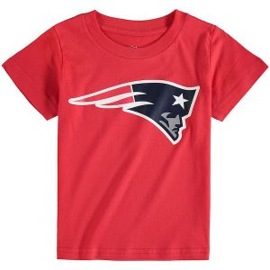New England Patriots Toddler Red Team Logo T-Shirt