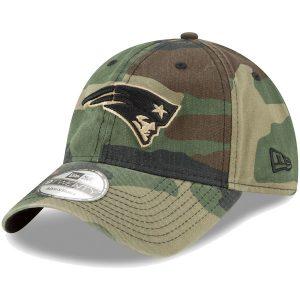 New Era New England Patriots Woodland Camo Core Classic 9TWENTY Adjustable Hat