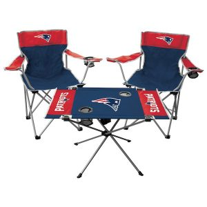 Rawlings New England Patriots Tailgate Chair And Table Set
