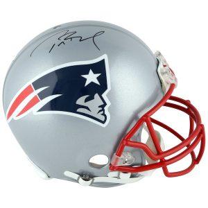TriStar Tom Brady New England Patriots Autographed Riddell Pro-Line Authentic Helmet