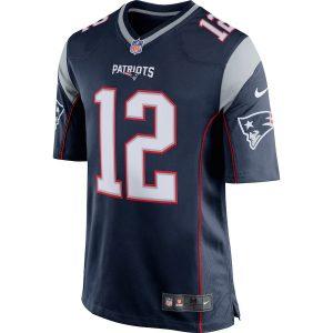Tom Brady Nike Game Jersey