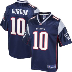 Josh Gordon New England Patriots NFL Pro Line Player Jersey – Navy