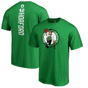 Al Horford Boston Celtics Backer Name & Number T-Shirt – Kelly Green