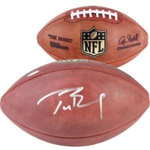 Autographed New England Patriots Tom Brady TRISTAR Pro Football