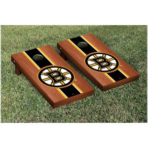 Boston Bruins 24″ x 48″ Rosewood Cornhole Game Set