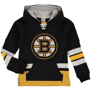 Boston Bruins Reebok Youth Retro Skate Hoodie – Black