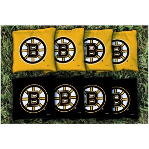 Boston Bruins Replacement Corn-Filled Cornhole Bag Set