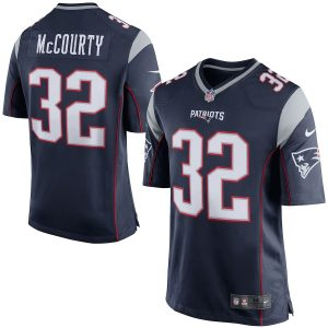 Devin McCourty New England Patriots Nike Game Jersey – Navy Blue
