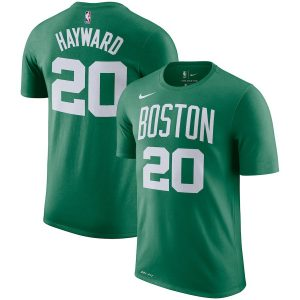Gordon Hayward Boston Celtics Nike Name & Number Performance T-Shirt – Green