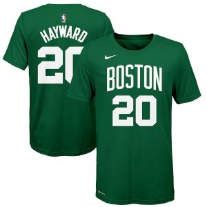 Gordon Hayward Boston Celtics Nike Youth Name & Number T-Shirt – Green