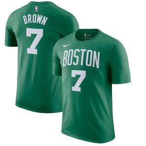 Jaylen Brown Boston Celtics Nike Name & Number Performance T-Shirt – Kelly Green
