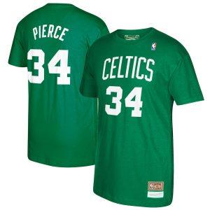 Paul Pierce Boston Celtics Mitchell & Ness Retirement Name & Number T-Shirt – Kelly Green