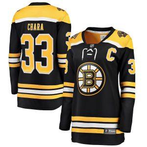 Zdeno Chara Boston Bruins Fanatics Branded Women's Breakaway Player Jersey – Black