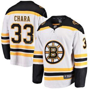 Zdeno Chara Boston Bruins White Away Breakaway Player Jersey