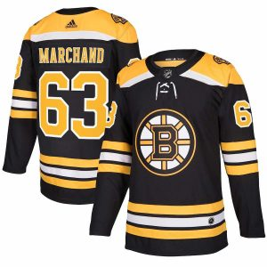 adidas Brad Marchand Boston Bruins Black Authentic Player Jersey