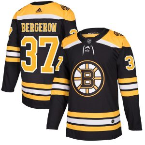 adidas Patrice Bergeron Boston Bruins Black Authentic Player Jersey