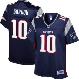 Josh Gordon New England Patriots NFL Pro Line Women's Player Jersey – Navy