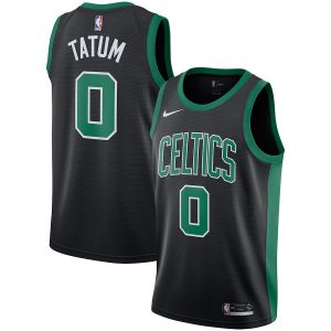 Jayson Tatum Boston Celtics Nike Replica Swingman Jersey – Statement Edition – Black